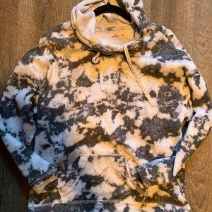 Hollister tye dye hooded sweater